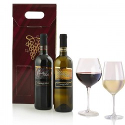 Regalo Natale Confezione Bottiglie Vino