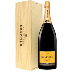 Champagne Carte d'Or Brut Jeroboam Drappier (cassa legno)