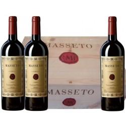 Masseto 2010 Cassa Legno 3 bt Tenuta Dell'Ornellaia